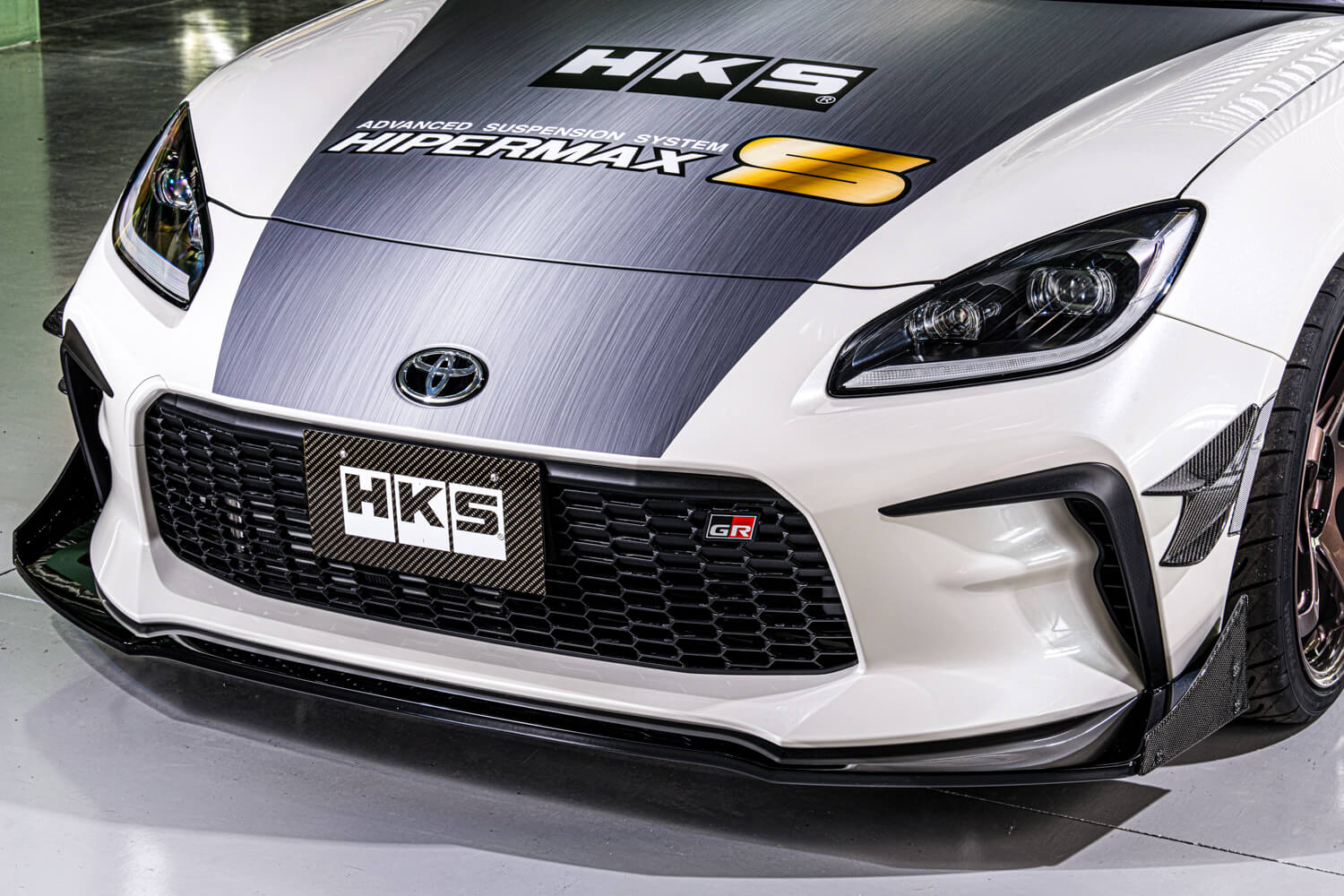 Toyota GR86 HKS Concept Front Lip and Canard.jpg